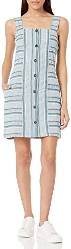 Roxy Women s Sweeter Dreams Short Dress Corsair River Stripe 211 M product image