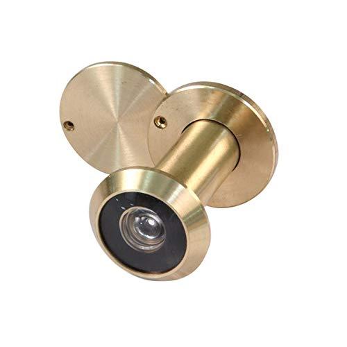 Micel 10013G Mirilla, Dorado Pulido, Diámetro 14, Grosor de la puerta 35-60 mm