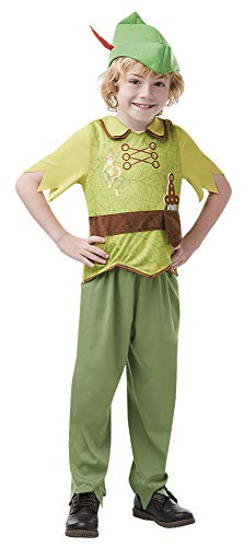 Disney - Disfraz de Peter Pan para nios, infantil 3-4 aos (Rubie's 641191-S)