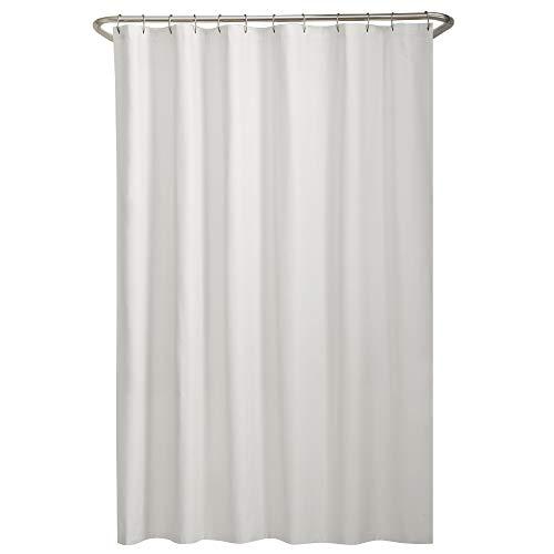 Maytex Tela Forro de Cortina de Ducha, Blanco, Shower Curtain Liner, 1