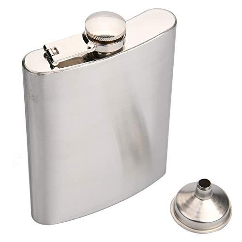 Draagbare Pocket Hip Flask RVS Wodka Whisky Hip Flask met Mini Trechter Flask Creatieve Verborgen Alcohol Liquor Opslag…