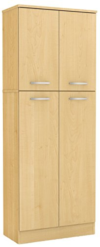 Hot Sale South Shore Fiesta Storage Pantry, Natural Maple