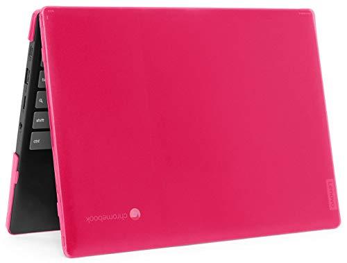 """mCover Hard Shell Case for 2020 11.6"""" Lenovo IdeaPad Chromebook 3 (11) Laptop ( NOT Fitting Lenovo 300E Windows & N21 / N22 / N23 / 300E / 500E / Flex 11 Chromebook ) ( LEN-IP3-C11 ) (Pink)"""