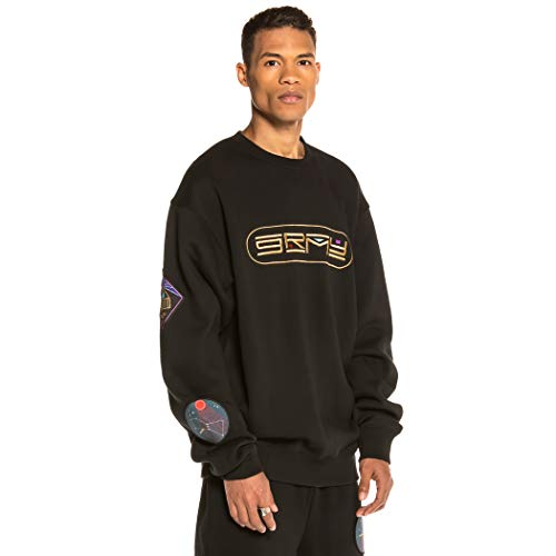 GRIMEY Sudadera Engineering Crewneck FW19 Black-S