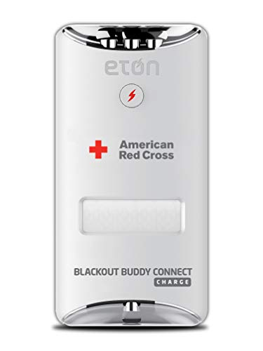 American Red Cross Blackout Buddy Connect Charge Emergency LED Light & USB Charger, Compatible with Amazon Alexa, Apple HomeKit & Google Home