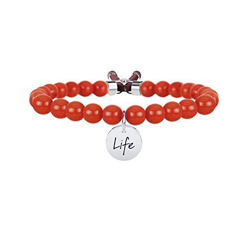 Rosso corallo Sensualità, Unica, Argento
