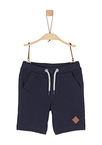 s.Oliver Junior Jungen 74.899.75.0523 Shorts, Blau (Blue 5958), 122 (Herstellergröße: 122/REG)