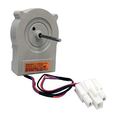 Supco SM1027N Replacement Refrigerator Evaporator Fan Motor Replaces 4681JB1027N, 1579962, 4681JK1004A, 3523326