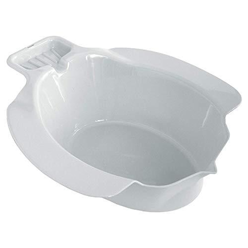 CareLiv Sitzbad aus Kunststoff, weiß - SV Sitzbad Bidet Einsatz Toiletteneinsatz Sitzbadewanne