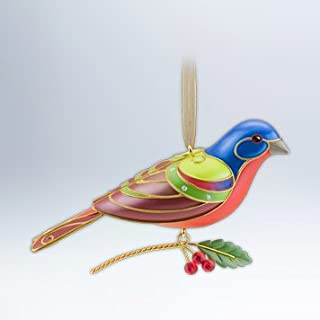 Hallmark Keepsake Ornament Painted Bunting Beauty of Birds 8th in Series 2012