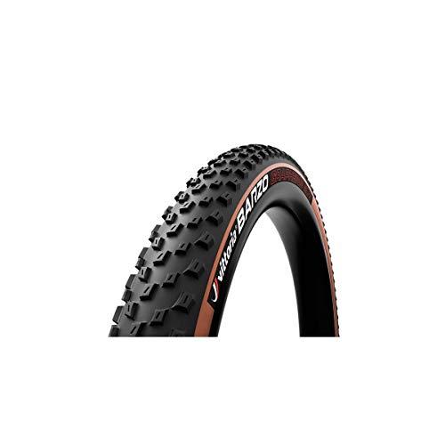"Vittoria Cub. Barzo TLR 29x2.1 Caram/Neg G2.0 Cubiertas Ciclismo Unisex Adulto, Multicolor (Caramelo Negro), 29"""
