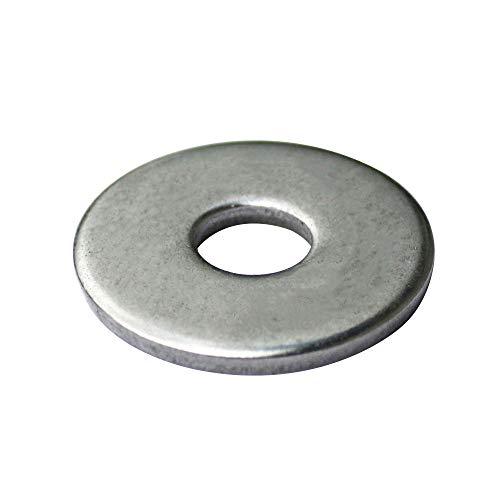 50 St/ück Edelstahl A2 V2A rostfrei Gro/ße Unterlegscheiben M12 Karosseriescheiben - DIN 9021 // ISO 7093-1 Eisenwaren2000