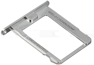 iPhone 4S Sim Card Tray Holder Slot - Silver
