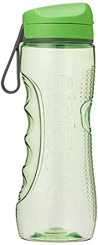 Sistema Hydrate Tritan Active Sports Water Bottle | 800 ml | Leakproof Water Bottle | BPA-Free | Assorted Colours