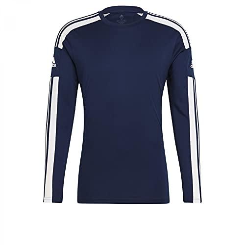 adidas Herren Squad 21 Jsy Ls T Shirt, Team Navy Blue/White, S EU