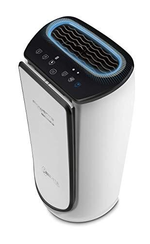 Rowenta PU6080 Intense Pure Air Connect XL - Purificador de Aire, 4 niveles de filtración hasta 140 m² con sensor de nivel de contaminación y gas de ajuste automático conectable mediante app