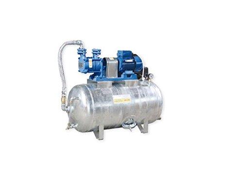 Hauswasserwerk 1,1 kW 230V 91 l/min 300L Druckbehälter verzinkt Druckkessel Set Wasserpumpe Gartenpumpe