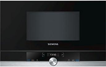 Siemens–Horno microondas Empotrar BF634LGS1acabado Negro De 60cm