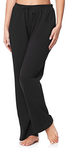 Merry Style Pantalones Largos de Pijamas 100% Algodón Mujer MPP-001
