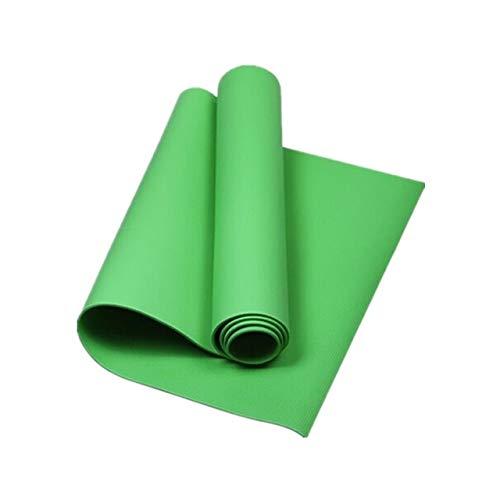 DKHF Yoga Mat Colchoneta Eva Yoga de 4MM Fitness Interior Alfombrilla Antideslizante Engrosada Colchoneta de Yoga Pilates Manta Deportiva de Gimnasia Colchoneta para Bajar de Peso