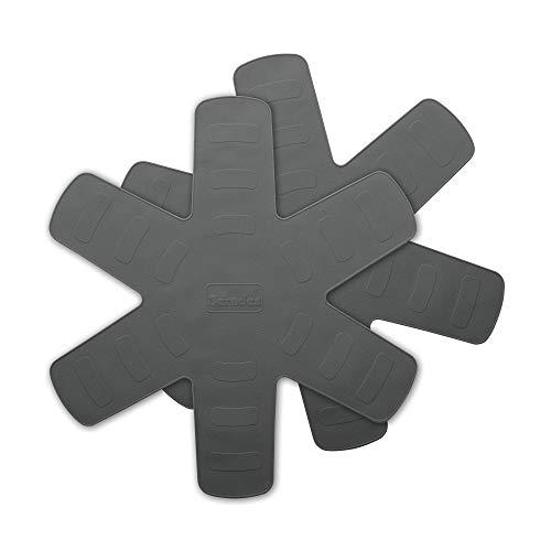 Berndes 002010 de poêle en Silicone, Gris, 28 x 15 x 2 cm