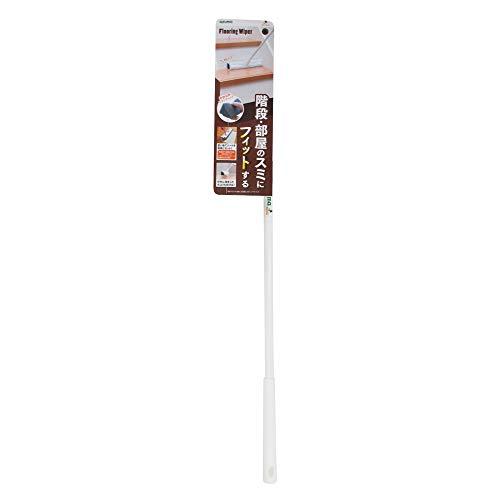 アズマ フローリングワイパー 階段にも便利なスポンジワイパーF 拭き幅27cm 柄の長さ69~108cm 階段・部屋の隅にフィットする FL374