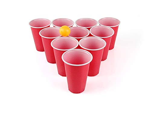 SeMa Home & Play Beer Pong Set 24 Tazze e Palline