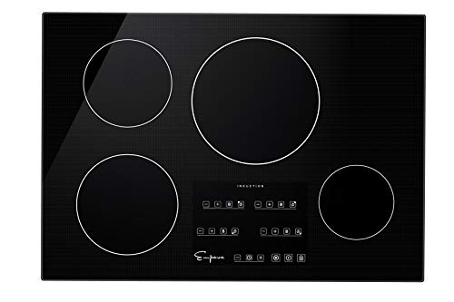 """Empava 30"""" Electric Stove Induction Cooktop with 4 Power Boost..."""