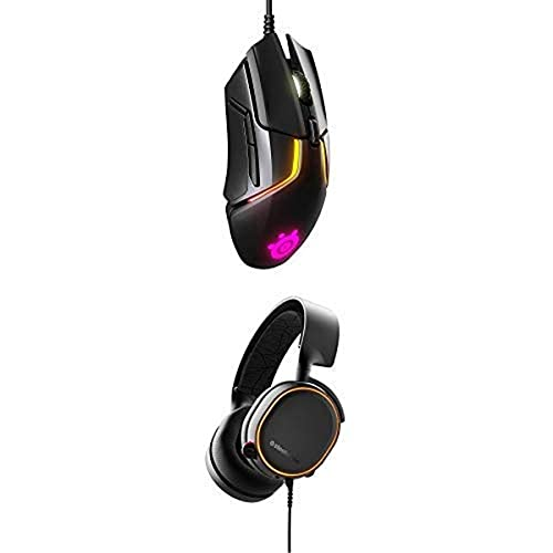 SteelSeries Rival 600 Mouse and Arctis 5 Headset Bundle