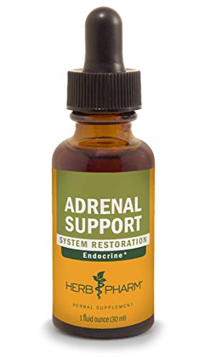 Herb Pharm Adrenal Support Liquid Herbal Formula with Eleuthero and Licorice Liquid Extracts - 1 Ounce