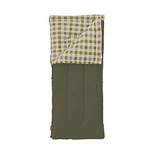 """コールマン(Coleman) 寝袋 フリースEZキャリー C0 使用可能温度0度 封筒型 オリーブリーフ 2000033802"""""""