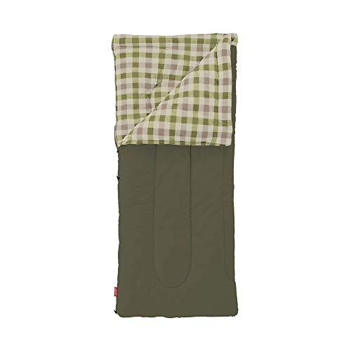 コールマン(Coleman) 寝袋 フリースEZキャリー C0 使用可能温度0度 封筒型 オリーブリーフ 2000033802