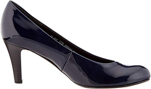 Gabor Shoes Damen Basic Pumps, Blau (Marine 76), 40 EU