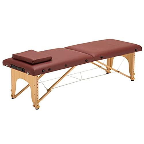 HuaBiao Table De Massage, Thérapie Pliante Lit De Massage Professionnel avec Housse De Transport, 2...
