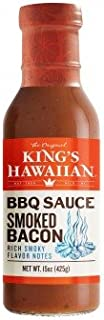 King's Hawaiian BBQ Sauce Smoked Bacon 15oz 1 Pack