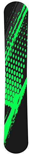 PrintAttack R003 V9 Snowboard Skin Wrap Folie Aufkleber 165 cm x 35 cm | Folierung | Sticker | Cover | Board | Styling | Green Splash