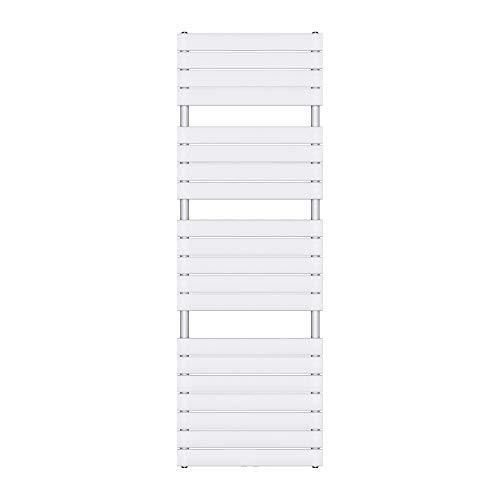 Sogood Design Badheizung 180x60cm Weiß Paneelheizkörper Einlagig Horizontal Mittelanschluss Bad-Heizkörper