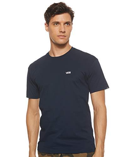 Vans Herren Left Chest Logo Tee T-Shirt, Blau (Navy-White Blue Navy), Medium