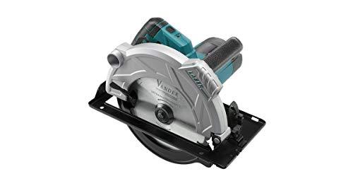 VANDER VPT718 - Sierra Circular Eléctrica (1800W | Velocidad: 5000 1/min | Hoja de Sierra: 210mm | Profundidad del Corte: 73mm)