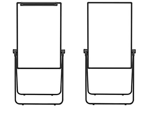 Luchs - Pizarra blanca con soporte/rotafolio - Caballete de pie, altura regulable,...