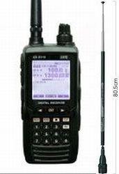 電化パーツ オリジナル AR-DV10 & RH789 ハンディデジタル対応広帯域受信機&広帯域ロッドアンテナ セット