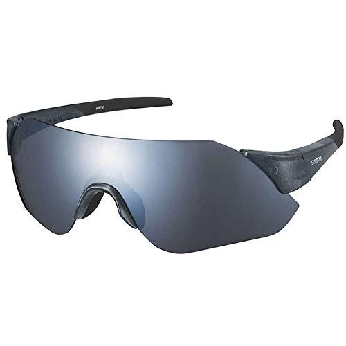 SHIMANO Gafa SH Aerolite MR Gafas, Adultos Unisex, Plateado (Plata), Talla Única