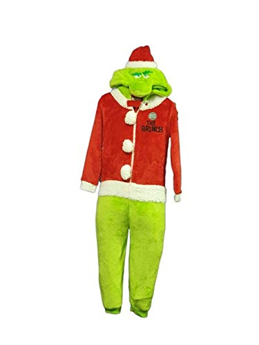 Pijama de Navidad para niños con licencia The Grinch Verde