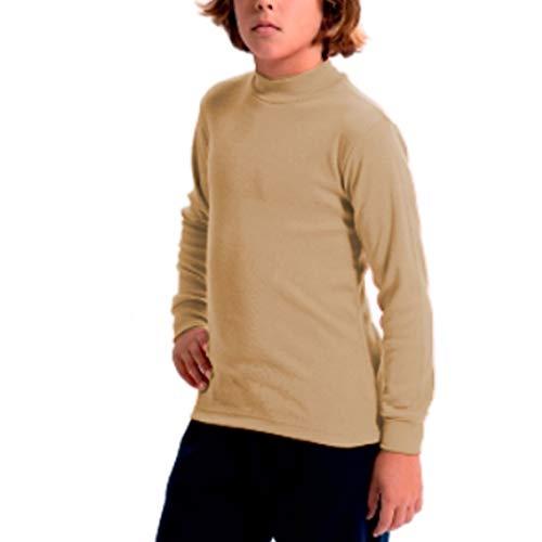 FABIO - Camiseta Carnaval Infantil Niñas Color: Camel 747 Talla: 2