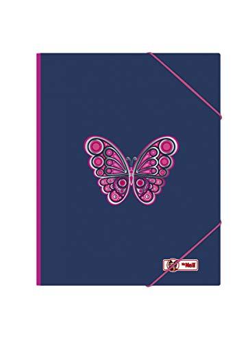 McNeill Gummizugmappe A4, Butterfly 2020