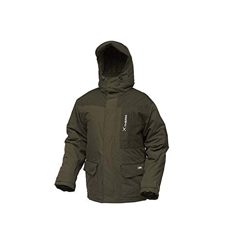 Dam Xtherm Winter Suit, 2-teiliger Deluxe-Thermoanzug und Kälteschutz in den Größen M-3XL, wasserdicht (8000mm Wassersäule), 100{df3ffb6cea46054c585490e86be018bf22cc716e2e9afcf2fdc80d851e5b0106} Polyester (Größe M)