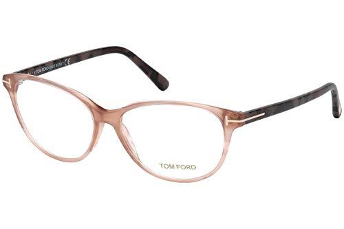 Tom Ford FT5421 bril 53-14-140 roze met negatieve lenzen 074 TF5421 TF 5421 FT 5421