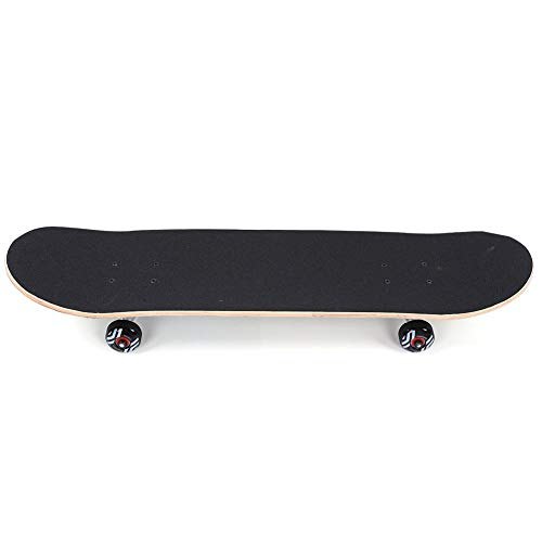 Keenso Skateboards, Maple Wood Street Skateboard Doppelverzogenes Dance Skateboard High Toughness Surface Skateboard für Skateboarder