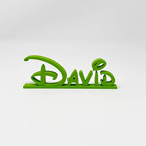 Disney Style Name Plate, Teacher Plate, Custom Desk Plate, Name Plate, Disney Style Letters, Name Plaque, Custom Name Plate