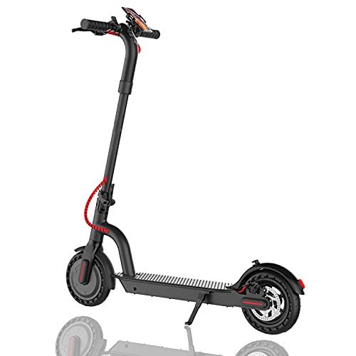 Patinete Eléctrico Plegable 250W E Scooter 28Km/h - Neumático Macizo de 8,5